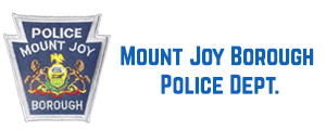 Mount Joy Borough Police Dept